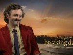 Michael Sheen The Twilight Saga: Breaking Dawn – Part 2 Interview