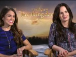 Nikki Reed & Elizabeth Reaser – The Twilight Saga: Breaking Dawn – Part 2 Interview