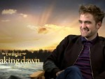 Robert Pattinson The Twilight Saga: Breaking Dawn – Part 2 Interview