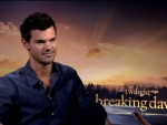 Taylor Lautner – The Twilight Saga: Breaking Dawn – Part 2 Interview